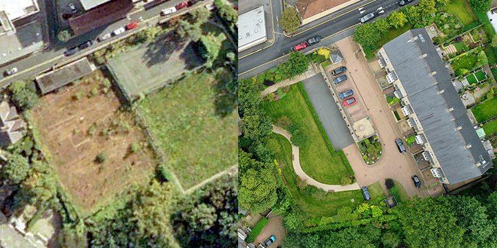Landscape Design for Town Centre – Before
