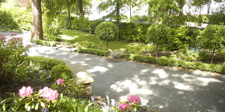Residential Spaces Hughes Landscape Design Associates